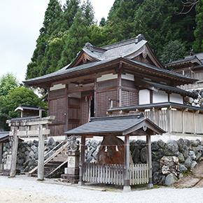 春日神社(桃俣)