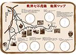 敷津七不思議スタンプマップ